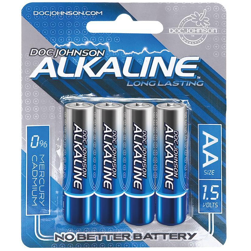 Doc Johnson Alkaline AA Batteries Pack of 4 - dearlady.us